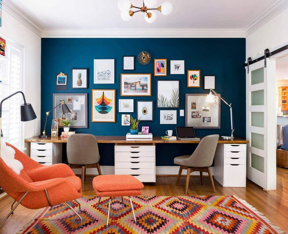 Vibrant Decor With Bohemian Vibes