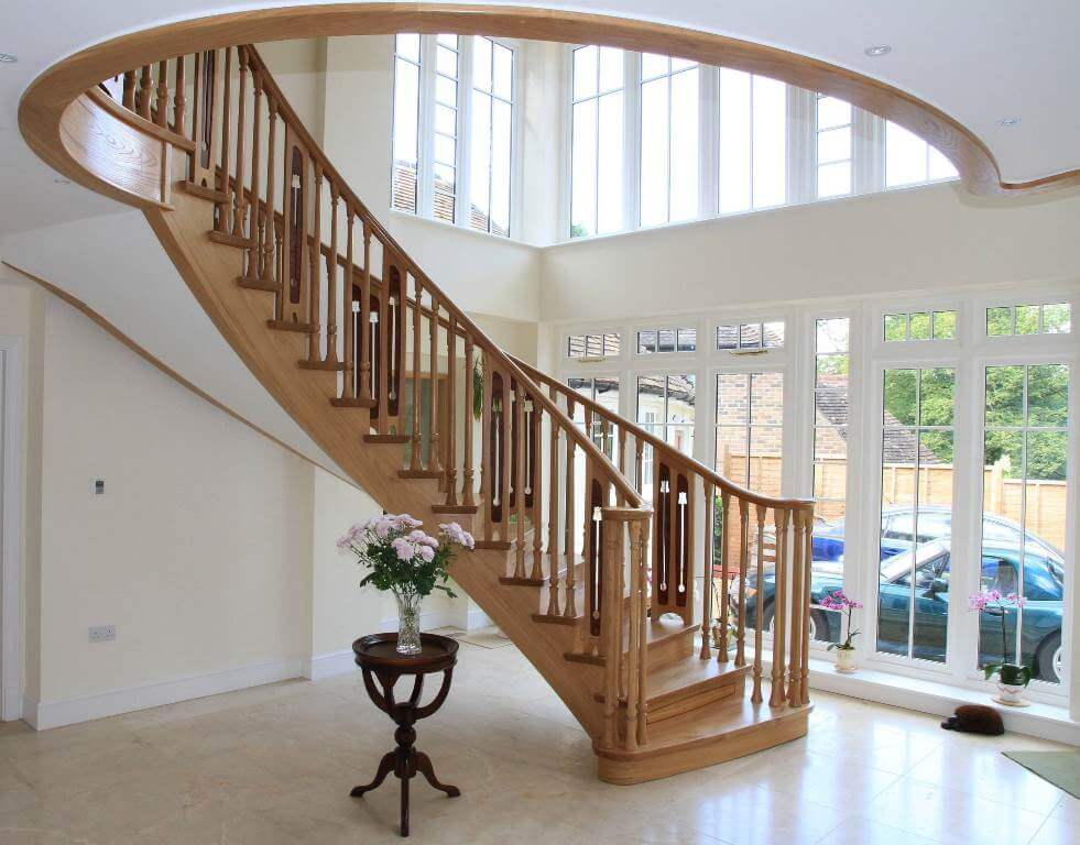 Traditional Wooden Staircase Design