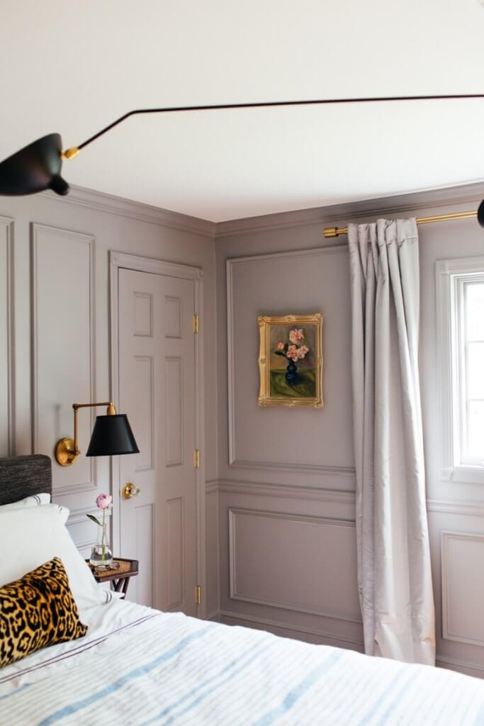 Millwork As Bedroom Wall Decor