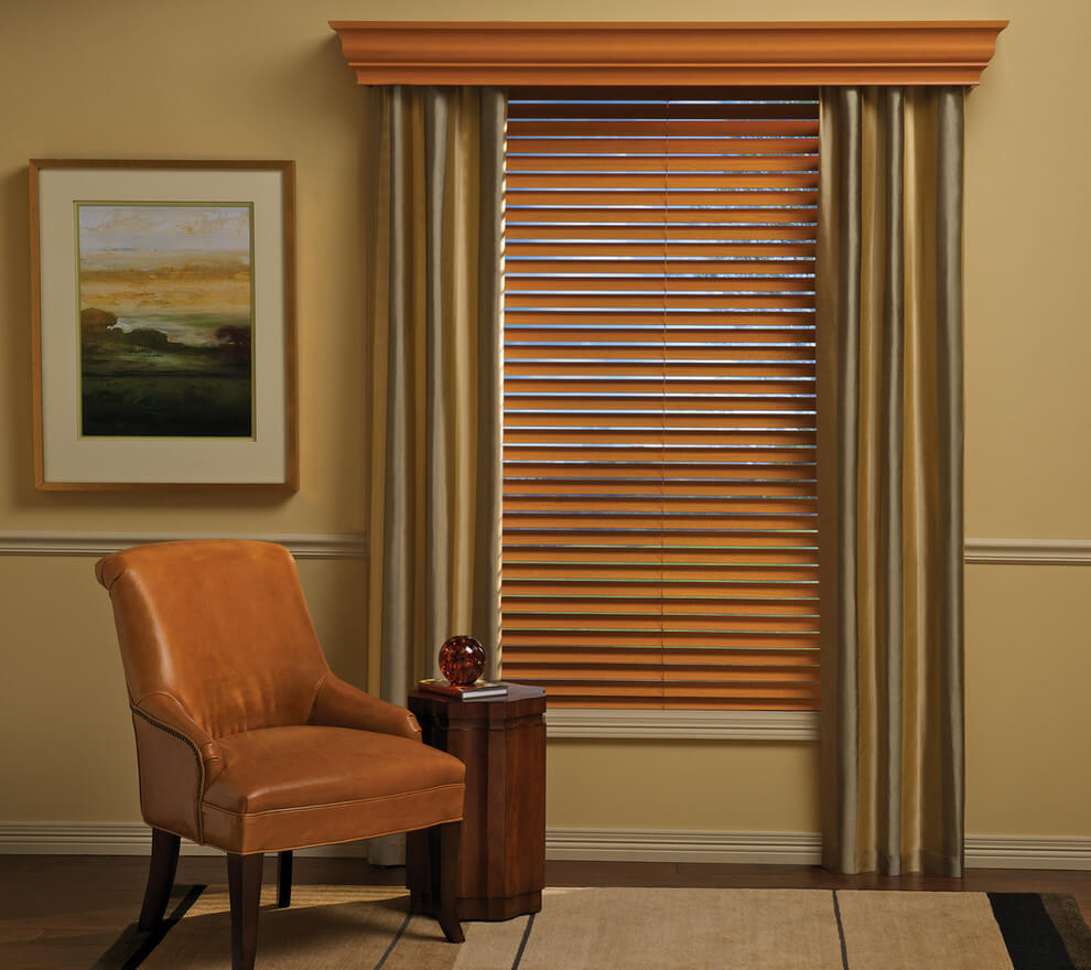 Wood Cornices For Window Coverings